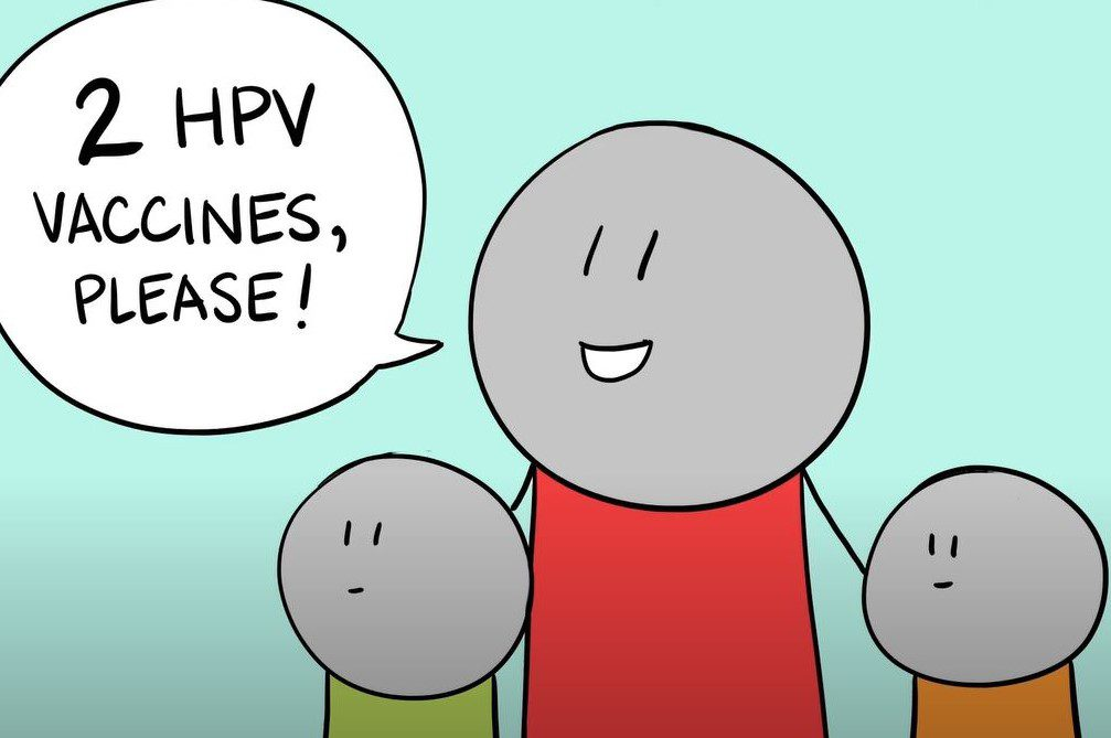 Excerpted image pulled from HPV: Not Too Late video