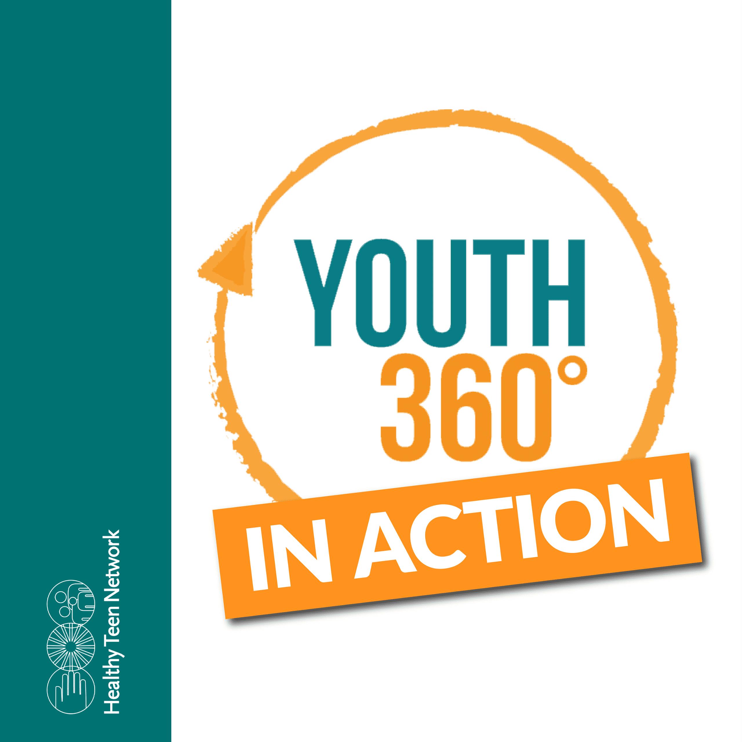 Cover slide for Youth 360 Prezi presentation