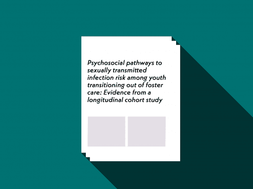 Psychosocial pathways to sexually transmitted infection risk among youth transitioning out of foster care