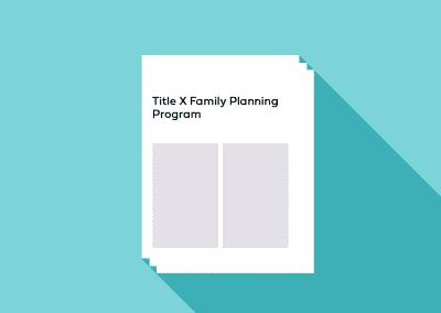 Title X Family Planning Program