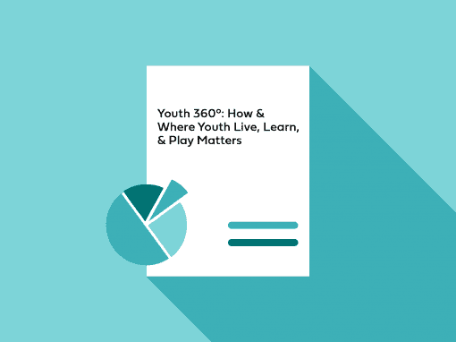 Youth 360°: How & Where Youth Live, Learn, & Play Matters