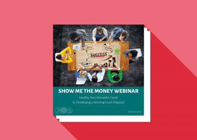 Show Me the Money: Overview of the Guide to Developing a Winning Grant Proposal