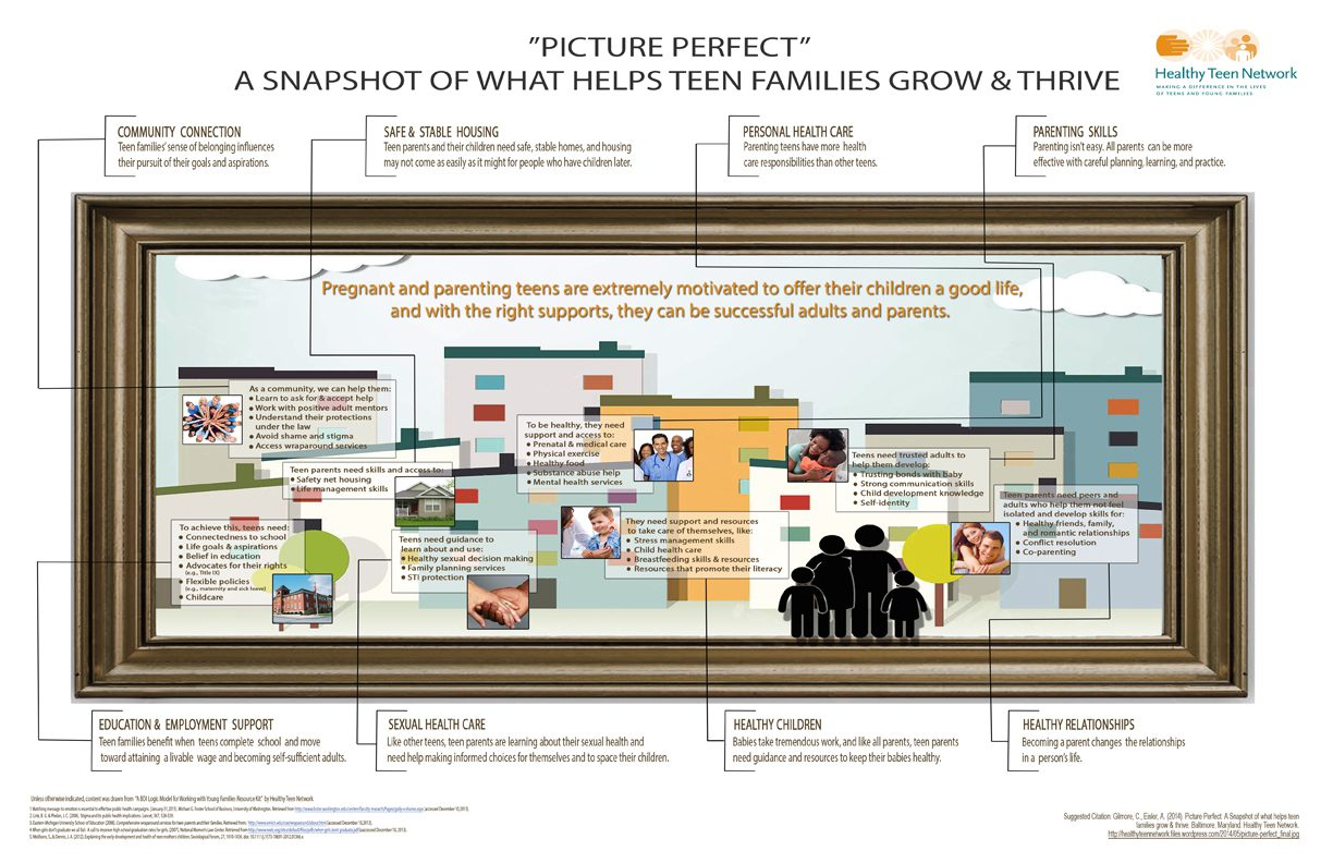 Picture Perfect: A Snapshot of What Helps Teen Families Grow & Thrive
