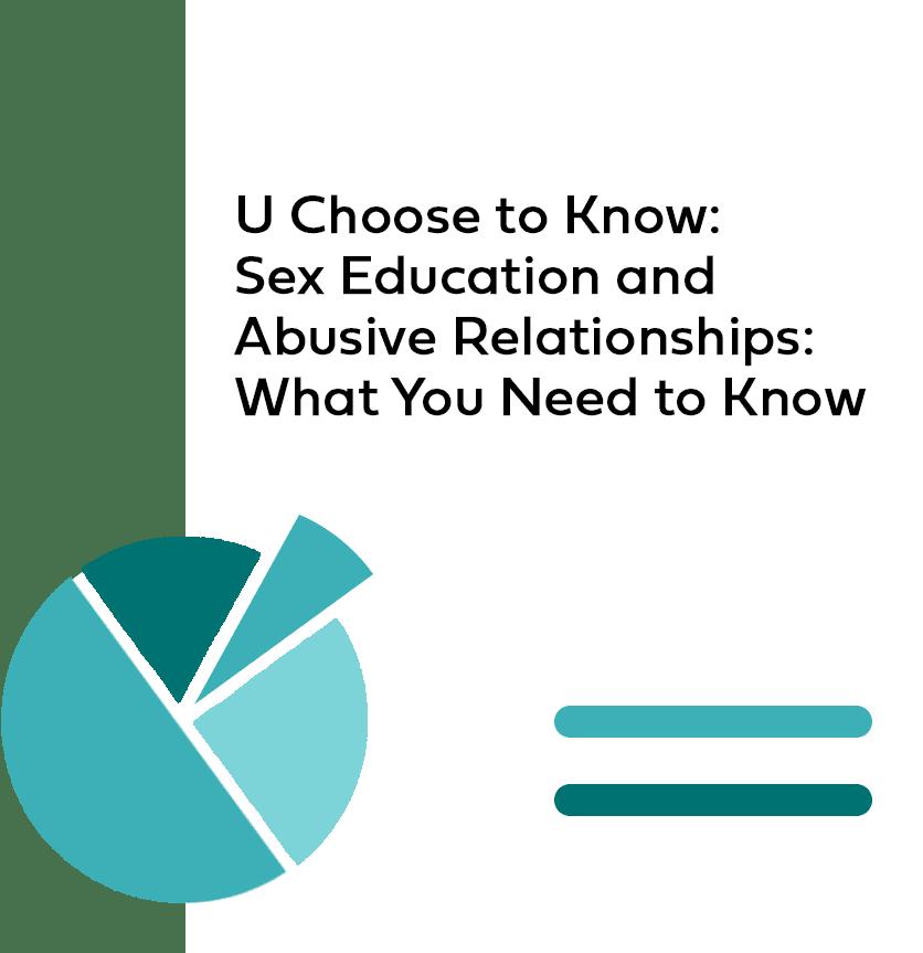 Product Image U Choose Sex Ed Abusive Relationships