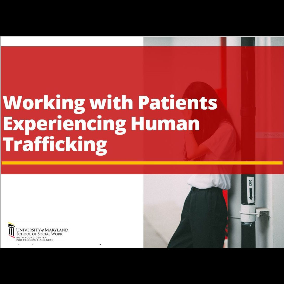 Product Image elearning Patients Human Trafficking