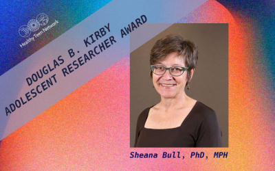 Sheana Bull, PhD, MPH, Awarded Douglas B. Kirby Adolescent Research of the Year